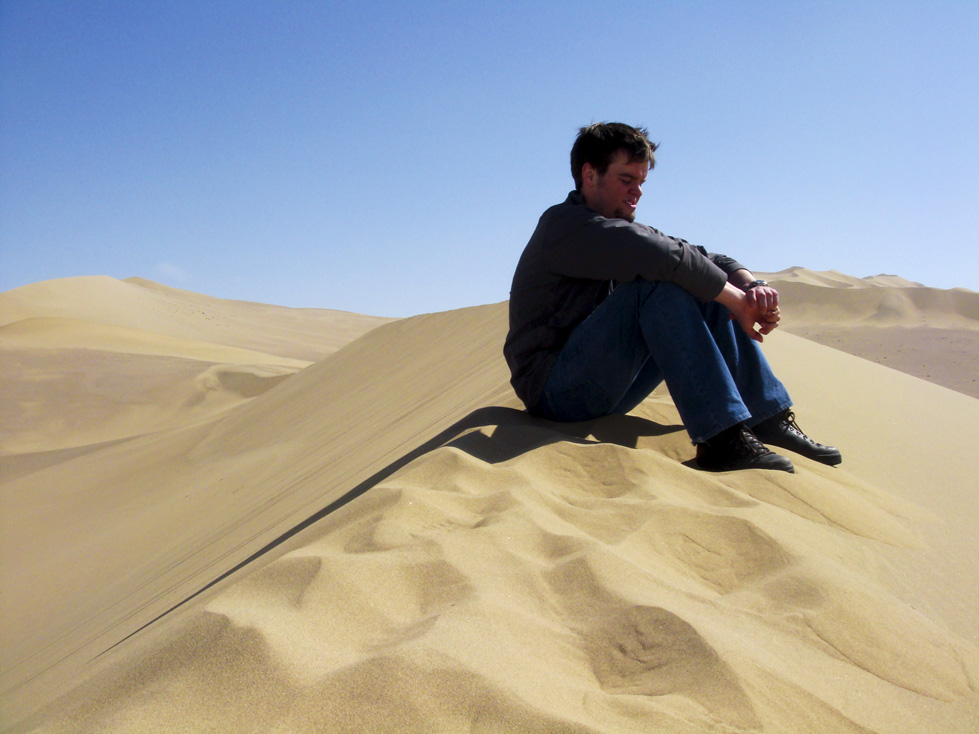 In the Gobi Desert