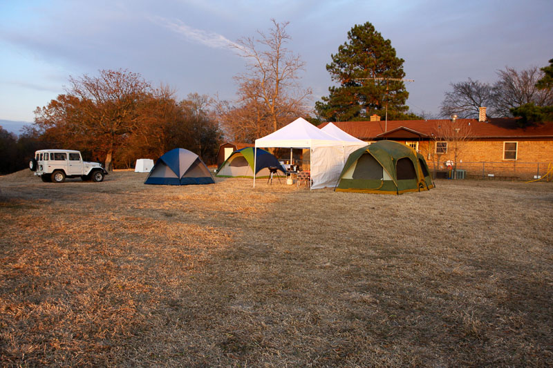 Oh yea, we really do camp out over Thanksgiving