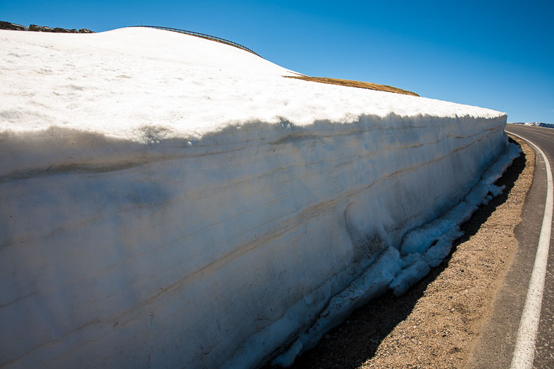 40 foot drifts accumulate in Red Lodge's heavy snow fall winters