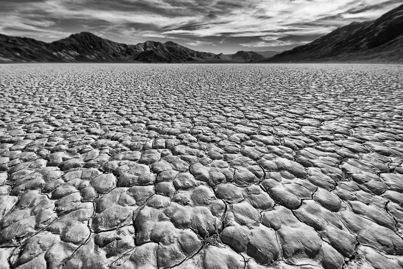 the starkness of Death Valley